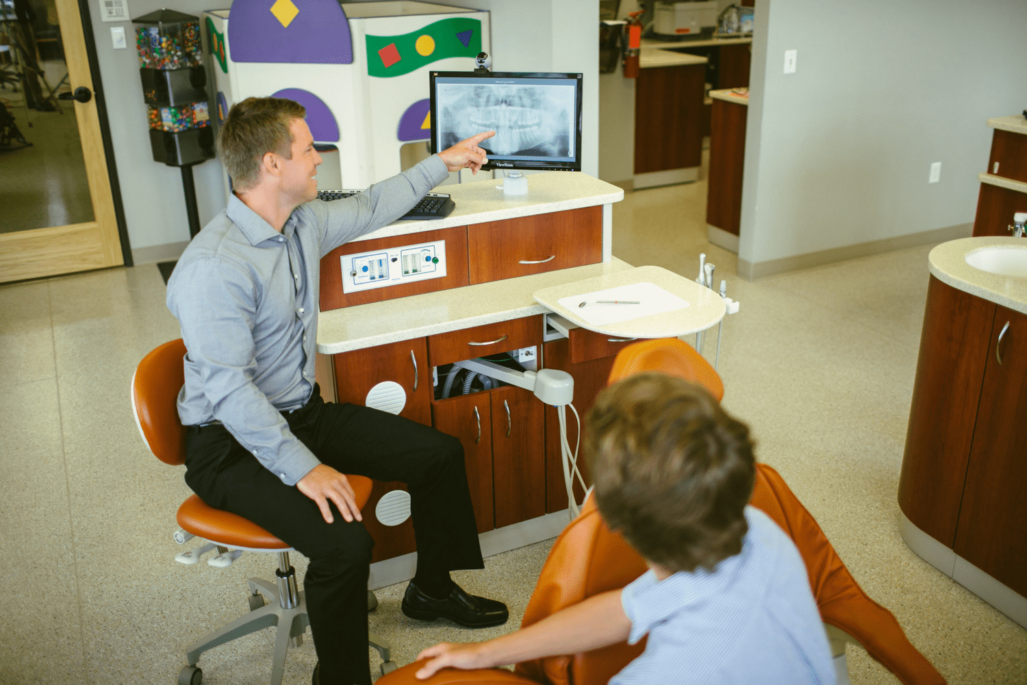 Treatment Chair with Dr. Sullivan